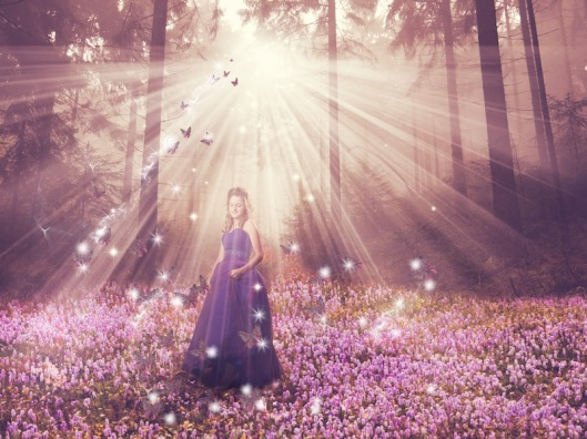Gemma in magical forrest