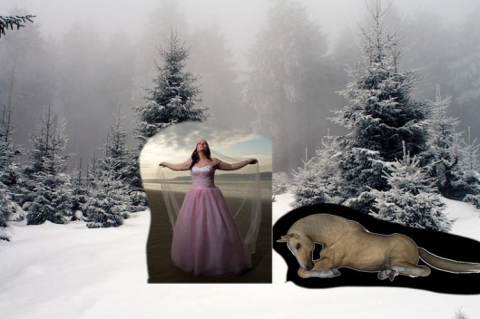 snow queen composite